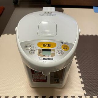 ゾウジルシ(象印)の電気ポット 象印 優湯生 CV-TY22-WA 2.2L(電気ポット)
