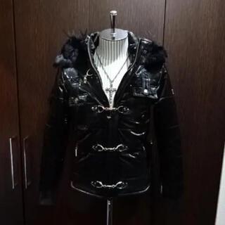 LAGUST - (定価25200)LAGUSTラガス/エナメル中綿ライダースJKT