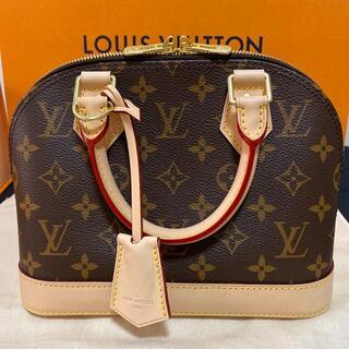 LOUIS VUITTON - 極美品!ルイヴィトン アルマBB モノグラム ハンドバッグ ショルダーバッグ