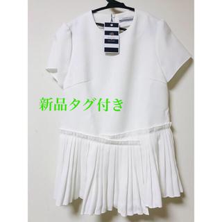 Drawer - 完売品✨新品✨ボーダーズアットバルコニー ツイルシャツ ヨーコチャン トップス