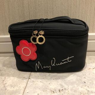 マリークワント(MARY QUANT)の新品・未使用品 マリークワント コスメポーチ 黒 化粧道具 MARY QUANT(メイクボックス)