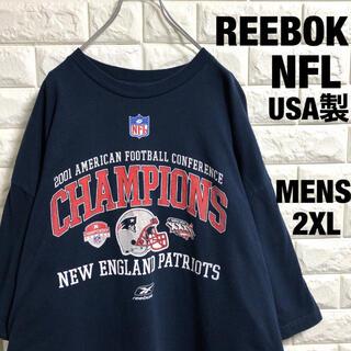 リーボック(Reebok)のREEBOK  NFL  ペイトリオッツ チャンピオン Tシャツ メンズ2XL(Tシャツ/カットソー(半袖/袖なし))