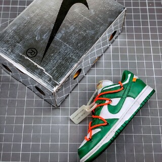 OFF-WHITE - 新品未使用27cm off_white×NIKE DUNK LOW PINE G