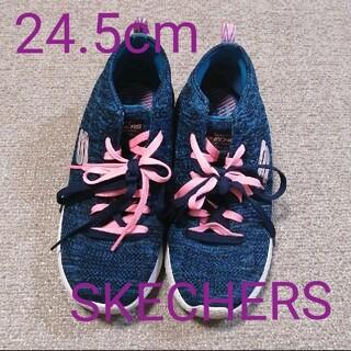 USED スケッチャーズ スニーカー 24.5cm