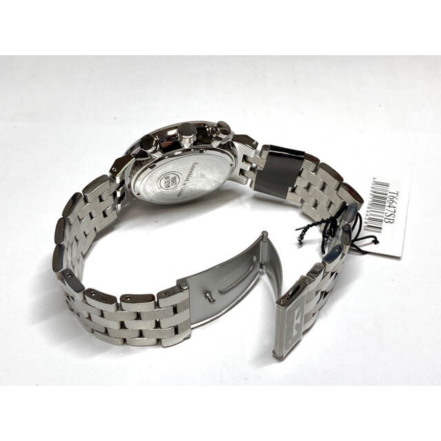 TECHNOS(テクノス)のテクノス  クロノグラフ   ブラック メンズの時計(腕時計(アナログ))の商品写真