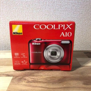 Nikon COOLPIX Affinity COOLPIX A10 RED