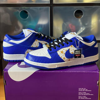 シュプリーム(Supreme)のSupreme Nike SB dunk low BLUE 27.5(スニーカー)