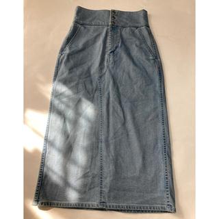 マカフィー(MACPHEE)の美品 マカフィー トゥモローランド レスアップタイトスカート(ひざ丈スカート)