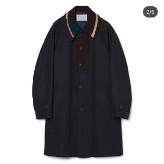 kolor - kolor カラー 20AW 本店限定 メルトンカシミヤコート グレー サイズ1
