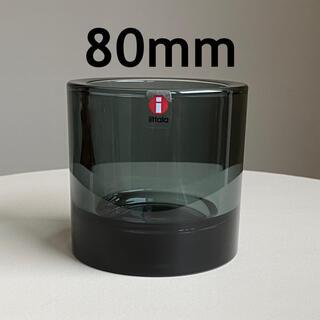 イッタラ(iittala)のKIVI グレー 80mm キビ イッタラ マリメッコ(置物)