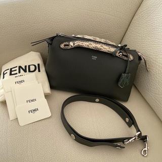 FENDI - 美品です☺️フェンディ バイザウェイ 2way ハンドバッグ パイソン×レザー