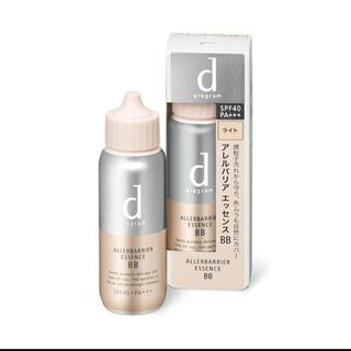 ディープログラム(d program)の新品未使用品 dプログラムアレルバリアエッセンスBB【ライト】(化粧下地)
