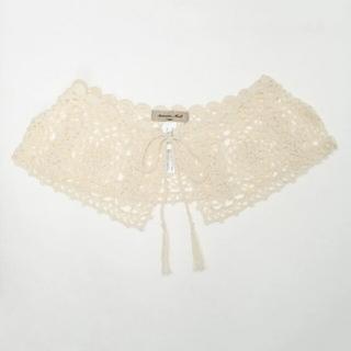 SM2 - 【新品タグ付】SM2  手編みかぎ針レースつけ衿