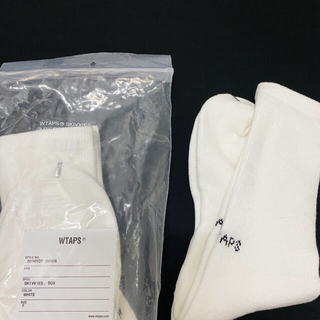 WTAPS 靴下 ソックス バラ売り 白黒2足セット