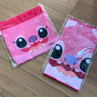 ディズニー(Disney)の新品♡ミニタオル&巾着のセット(タオルケット)
