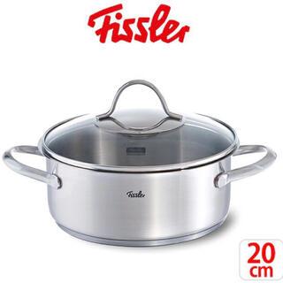 Fissler - Fissler ( フィスラー ) キャセロール ステンレス鍋 20cm