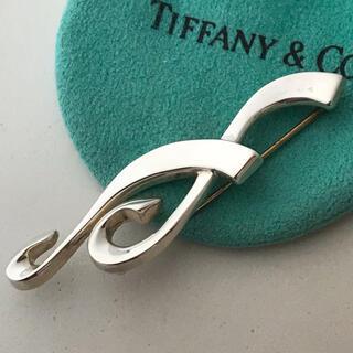 ティファニー(Tiffany & Co.)のTiffany パロマピカソ音符ブローチ(ブローチ/コサージュ)