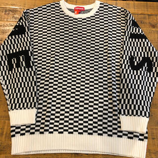 Supreme - supreme back logo sweater XLサイズ
