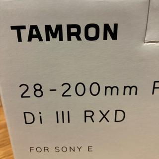 【新品未開封】タムロン28-200mm F/2.8-5.6 Di III RXD