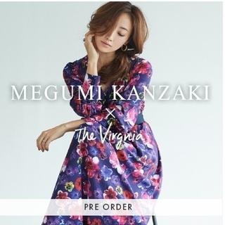 The Virgnia - The Virgnia  神崎恵×The Virgnia花柄マキシワンピース