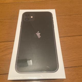 iPhone - iPhone11 128GB ブラック MHDH3J/A SIMフリー 新品