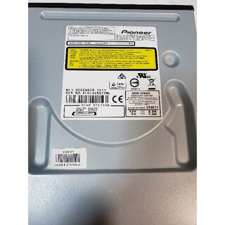 パイオニア(Pioneer)のPioneer BDR-209BK BD/DVDライター ドライブ(PC周辺機器)