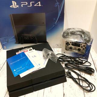 PlayStation4 - SONY 1TB PS4 本体 別途コントローラー 保証書