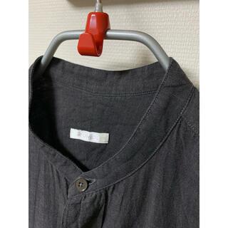 COMOLI - COMOLI ベタシャン バンドカラーシャツ サイズ2