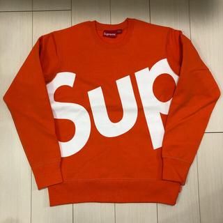 Supreme - 送料込み 極美品 Sサイズ Supreme Sup Crewneck スウェット