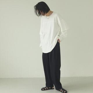 TODAYFUL - 新品 todayful Cotton Layered Long Tshirts