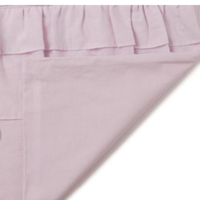 Francfranc(フランフラン)のお値下げ⭐️フランフランパピロッテライト 掛け布団カバーダブル パープル インテリア/住まい/日用品の寝具(シーツ/カバー)の商品写真