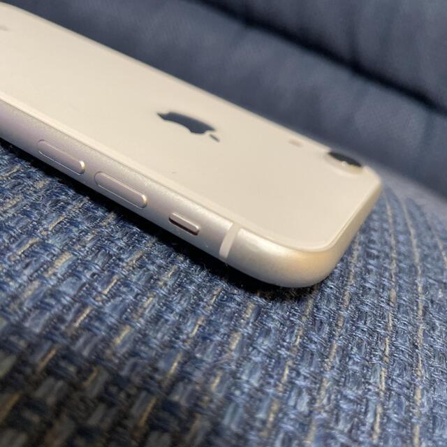 iPhone(アイフォーン)のiPhone  XR 128 ホワイト 本体 スマホ/家電/カメラのスマートフォン/携帯電話(スマートフォン本体)の商品写真