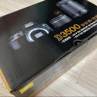 Nikon - 【新品未開封】Nikon D3500 ダブルズームキット