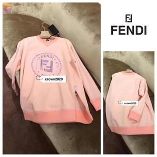 フェンディ(FENDI)のFENDI ロゴ入り スウェット S(トレーナー/スウェット)