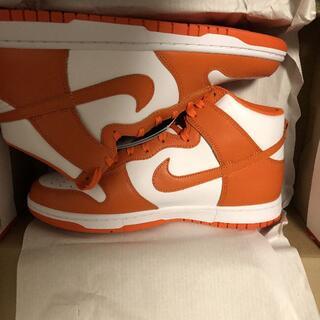 ナイキ(NIKE)のNIKE DUNK HIGH SP Orange Blaze(スニーカー)