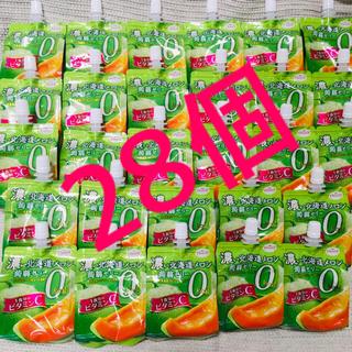 【新品28個】たらみ濃い北海道メロン蒟蒻ゼリー(菓子/デザート)