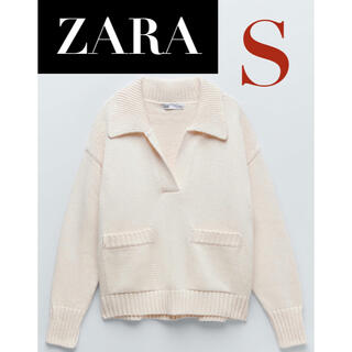 ZARA - 【新品/未着用】 ZARA ポロネックニットセーター ポロニットセーター