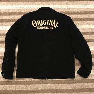TENDERLOIN - テンダーロイン コーデュロイ ワークジャケット 刺繍 ブラック L