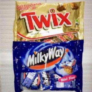 チョコレート(chocolate)の輸入菓子チョコレート  ツイックス ミルキーウェイ セット(菓子/デザート)