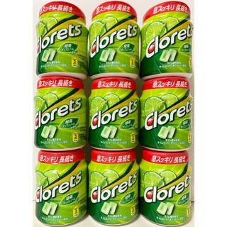 ★未開封★ クロレッツXP  ライムミントボトル  粒ガム  9個セット(菓子/デザート)