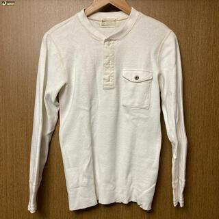 シュガーケーン(Sugar Cane)のSUGERCANE ヘンリーネック 長袖 Mサイズ(Tシャツ/カットソー(七分/長袖))