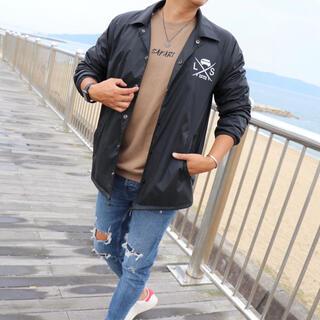 ロンハーマン(Ron Herman)のストリート系☆LUSSO SURF コーチジャケット  Mサイズ♡RVCA(ナイロンジャケット)