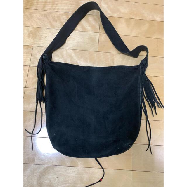 goro's(ゴローズ)のgoros ゴローズ ディアスキンバッグ黒 Mサイズ カスタム メンズのバッグ(ショルダーバッグ)の商品写真