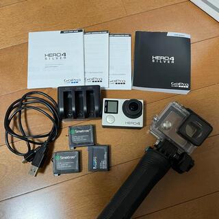 ゴープロ(GoPro)のGoPro hero4silver(コンパクトデジタルカメラ)