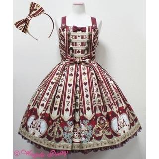 Angelic Pretty - 【新品】Wonder Queen SpecialジャンパースカートSet♡ワイン