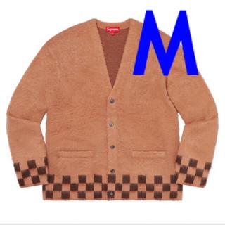 Supreme - 【M】Brushed Checkerboard Cardigan