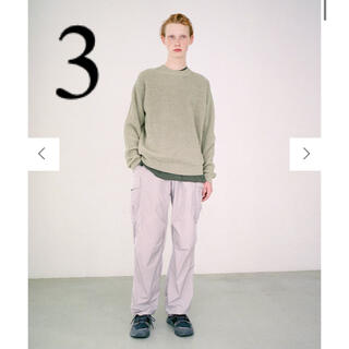 3 AURALEE  21ss NYLON FATIGUE PANTS