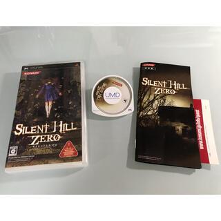プレイステーションポータブル(PlayStation Portable)のサイレントヒル ゼロ PSP(携帯用ゲームソフト)