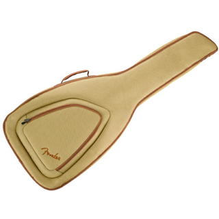 fender フェンダー ギターケース アコギ エレアコ 黄 ギター ギグバッグ(ケース)
