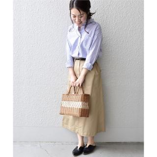 SHIPS - 定価約12,000円☆SHIPS Days ツイルサイドギャザースカート